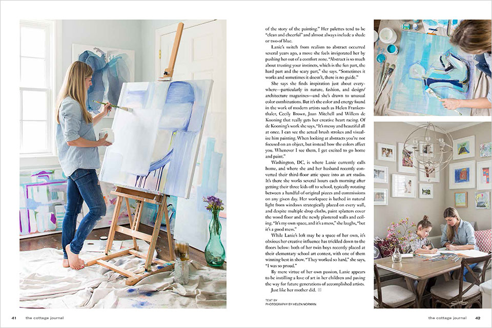 Story by Terri Sapienza for the Cottage Journal